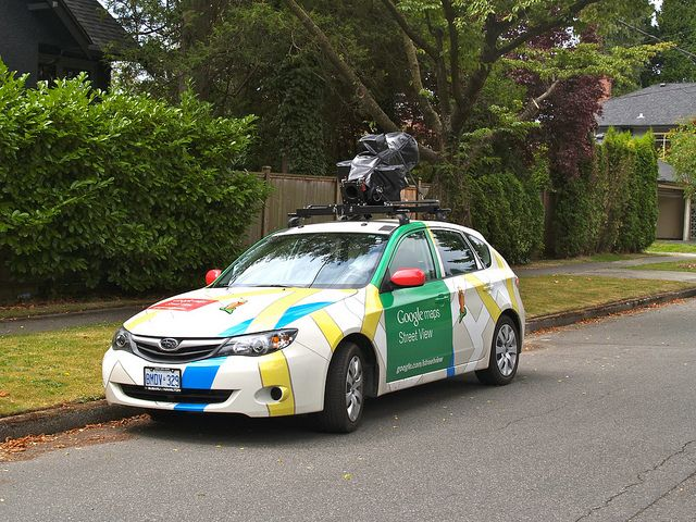 Google Maps Street View Car by JeffaCubed, via Flickr