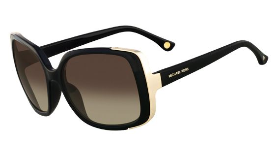 58ffb7973a This overzied sunglass frame has a touch of Old Hollywood glamour to it. Michael  Kors MKS290 Gabriella