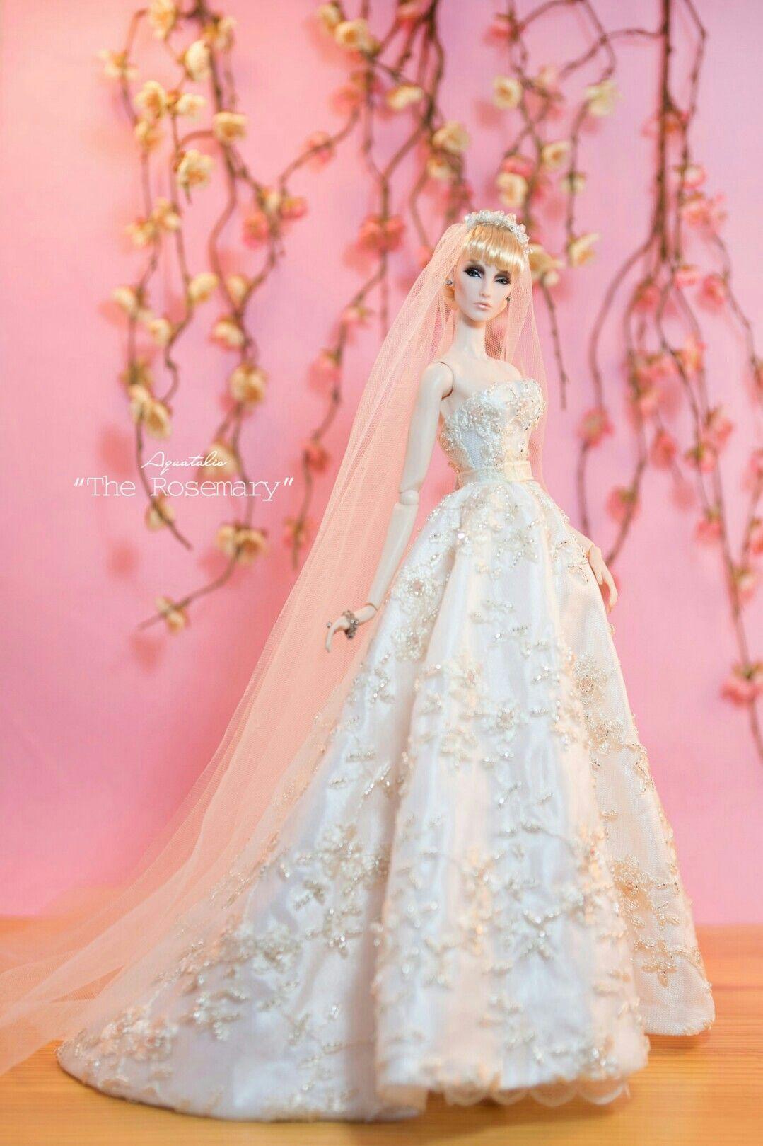 Pin de Wendy Anderson en Dolls | Pinterest | Barbie, Vestido de ...