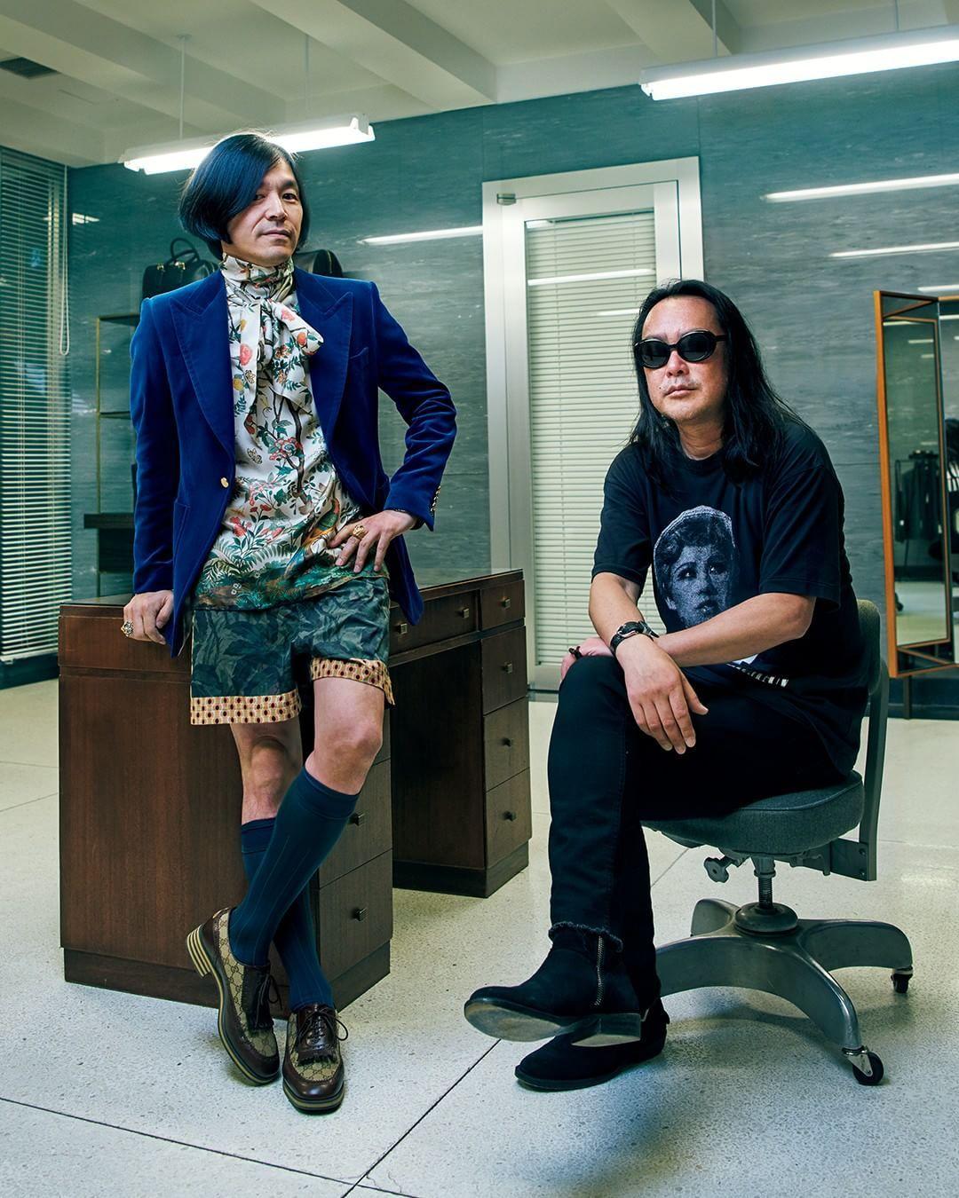 GQ JAPAN on Instagram \u201cファッション界の2大カリスマ