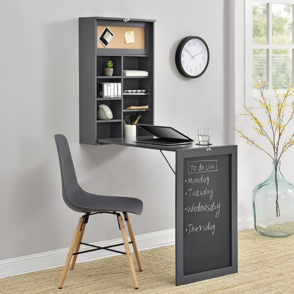 En Casa Wandklapptisch Tisch Schreibtisch Zum Ausklappen