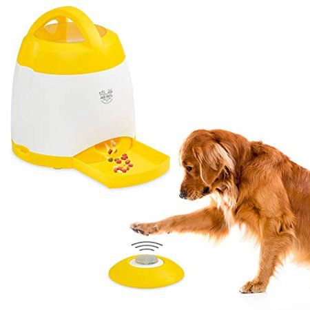 Interactive Dog Toys Exercise Arf Pets Dog Treat Dispenser – Dog Puzzle Memory Training Activity Toy – Treat While Train, Promotes Exercise by Rewarding Your Pet, Cat, Improves Memory & Positive Training for A Healthier & Happier - Walmart.com