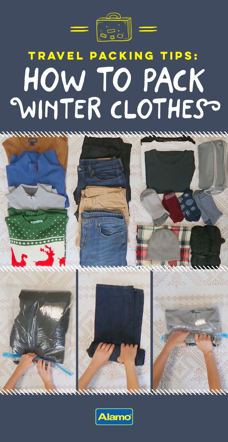 ccd9f6c1297d How to Pack Winter Clothes for Travel