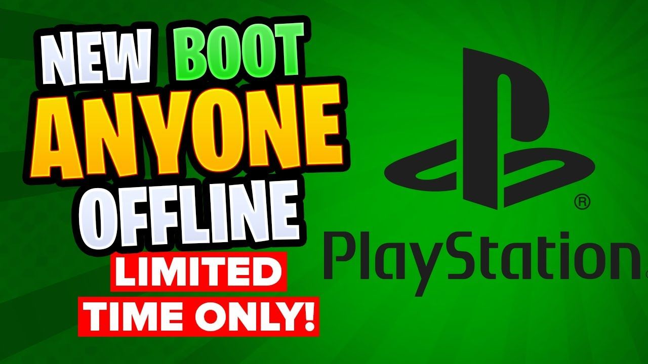 How To Boot Someone Offline Ps4 How To Kick Anyone On Playstation Offl Offline Playstation Ps4