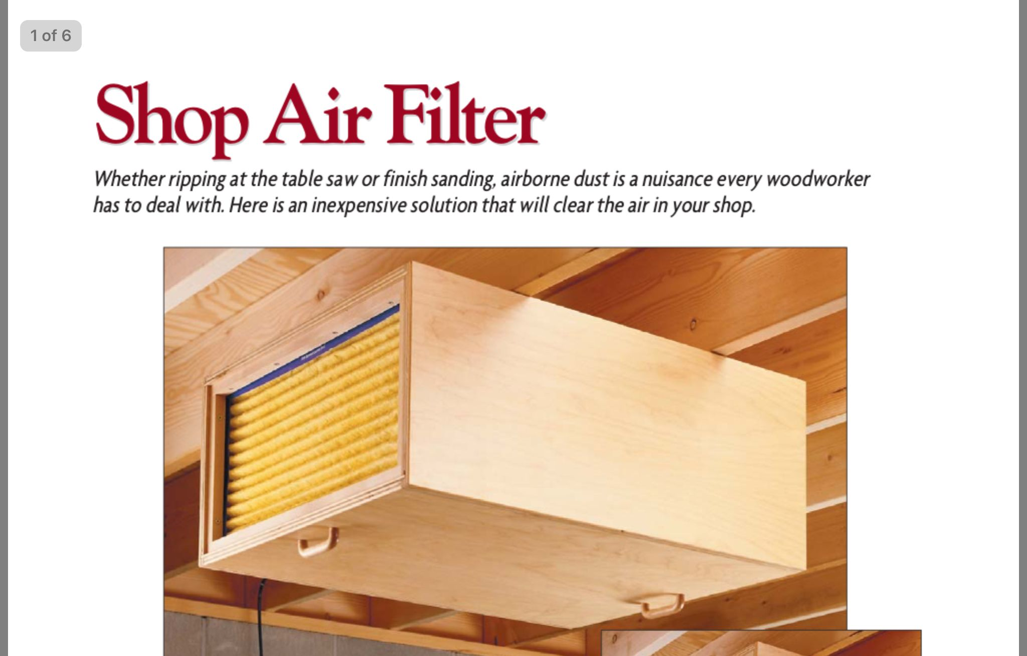Pin by GDRives on Woodworking Woodworking, Air filter