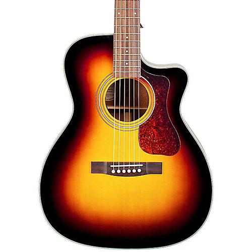 Guild Om 140ce Acoustic Electric Guitar Sunburst Guitar Center Yamaha Guitar Guitar Guitar Tuners