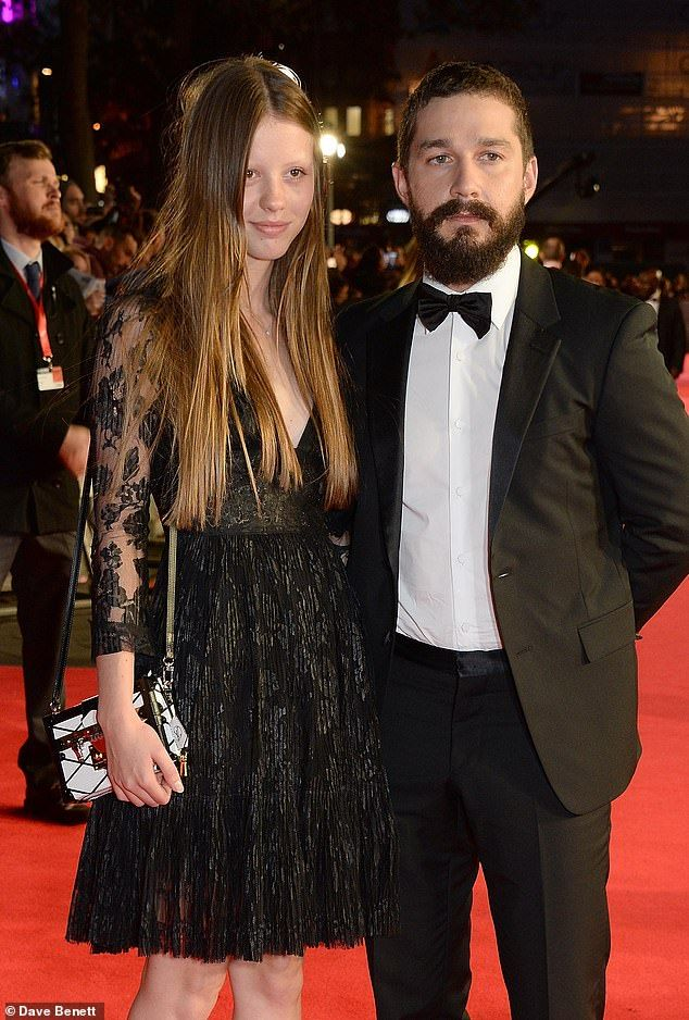 Shia LaBeouf and exwife Mia Goth spotted k in 2020