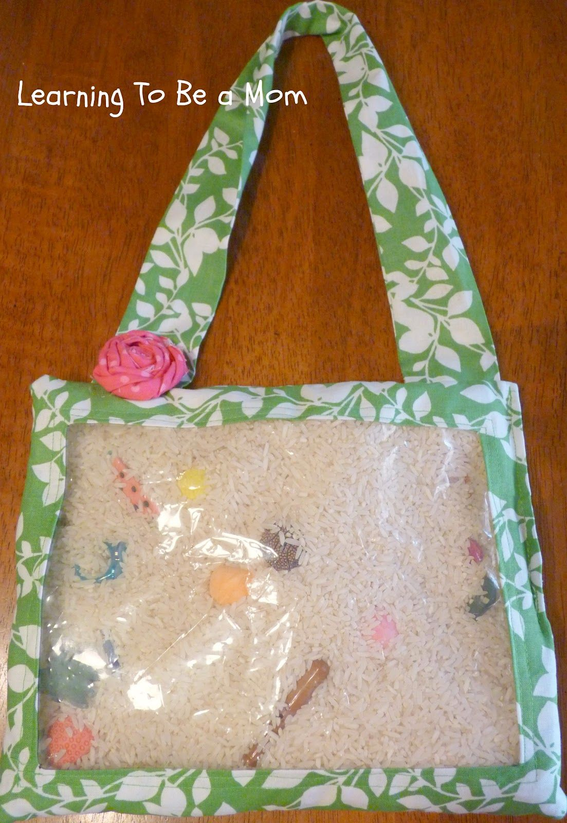 Learning To Be a Mom: Simple I Spy Bag Tutorial
