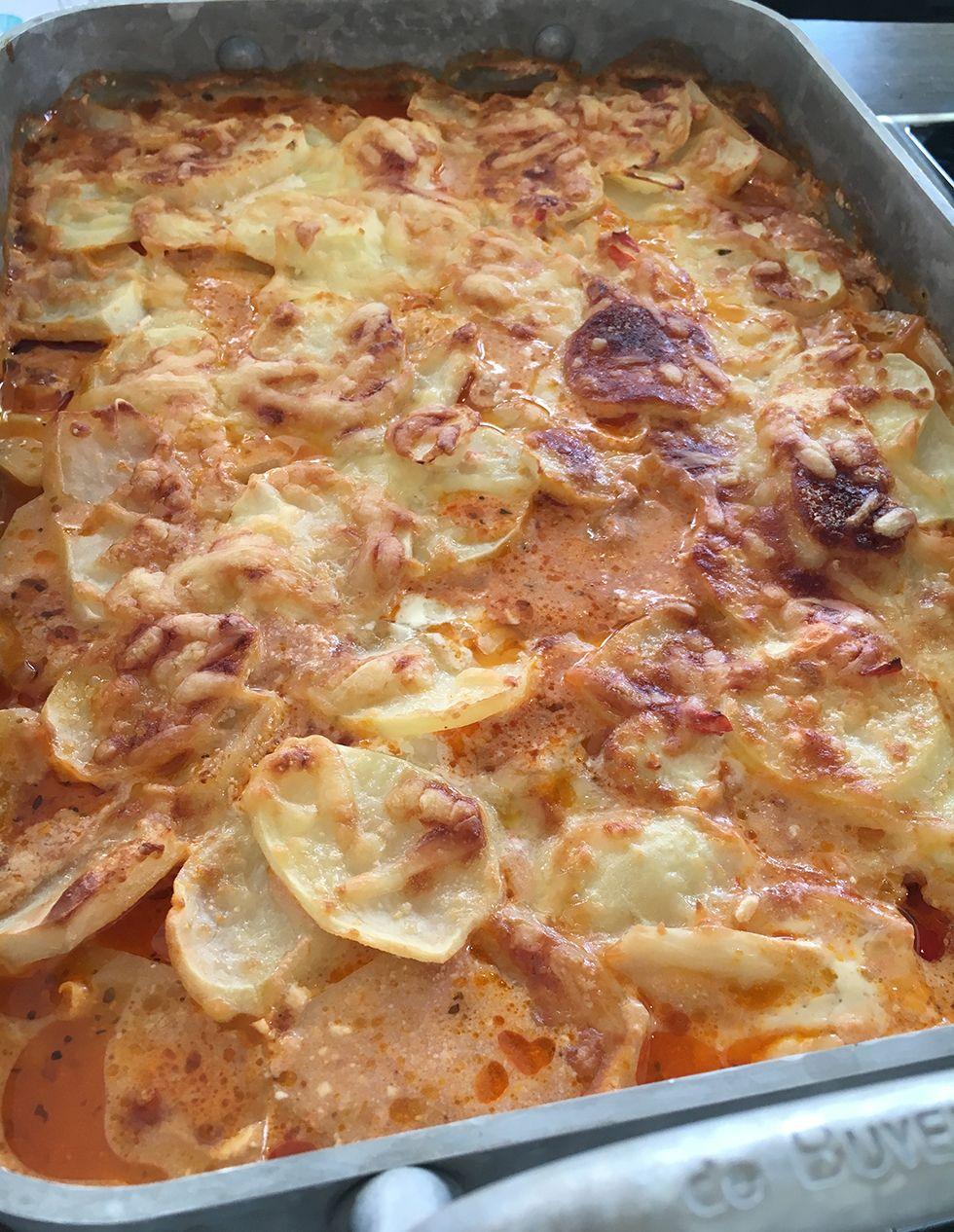 potatis och baconlåda