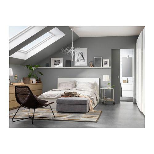 Ikea bett 140x200 mit schubladen  MALM Bettgestell hoch mit 4 Schubladen - 140x200 cm, - - IKEA ...