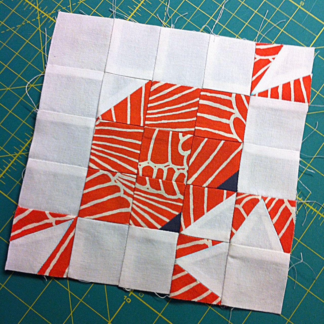 Crab Block Tricia Quilt Block Patterns Coastal Quilts