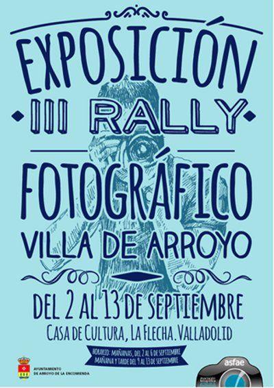 Las fotografías del III Rally Fotográfico se exponen en la Casa de Cultura de Arroyo de la Encomienda hasta el 13 de septiembre http://www.revcyl.com/www/index.php/cultura-y-turismo/item/725-las-fotograf%C3%ADas-del-iii-rally-fotogr%C3%A1fico-se-exponen-en-la-casa-de-cultura-de-arroyo-de-la-encomienda-hasta-el-13-de-septiembre