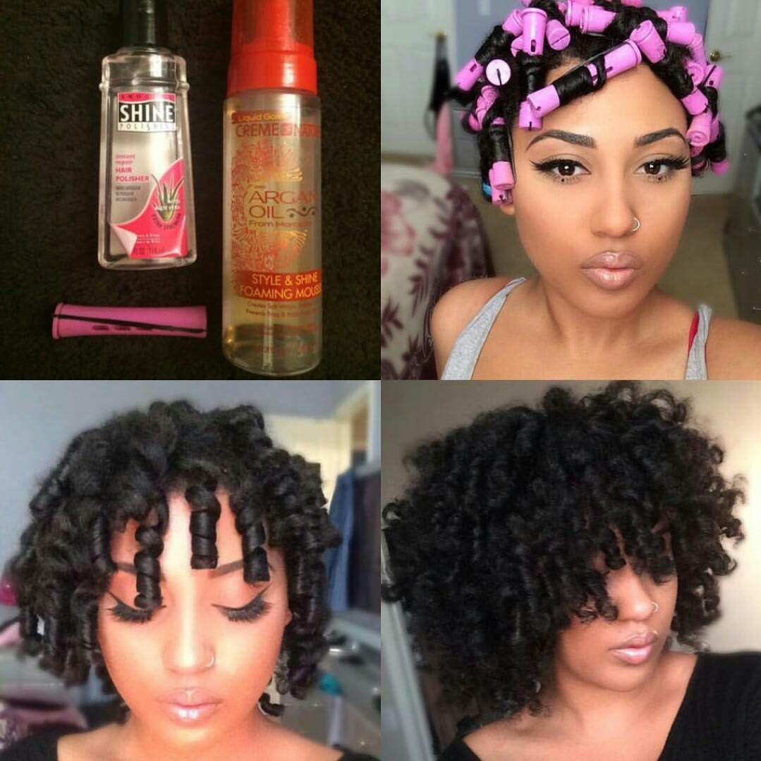Perm rods natural styles pinterest perm natural and hair style