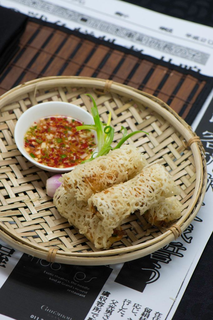 Cha Gio Re Chien Gion Vietnamese Nest Spring Rolls Crab Meat Shrimp Restaurant Ideasrice Papercrab