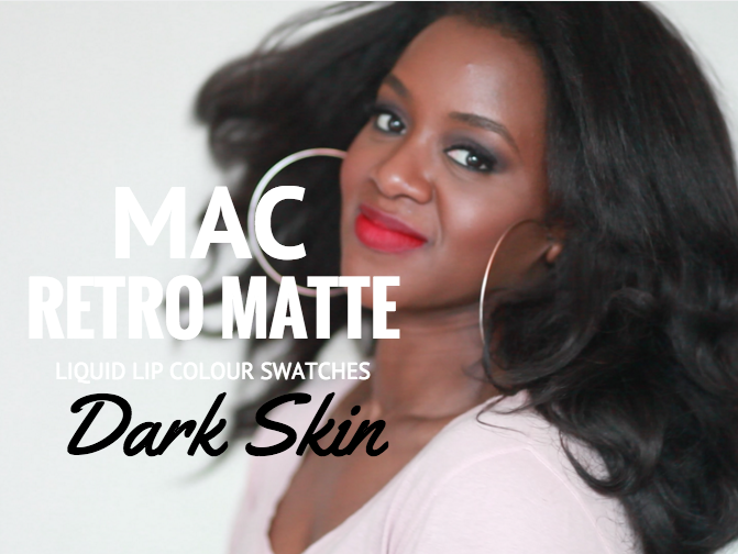 Mac The Matte Lip Lipstick Collection Swatches Thepaintedlipsproject You