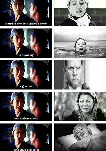Grey's Anatomy - She went through a lot
