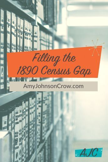 8 Sources to Fill the 1890 Census Gap #genealogy