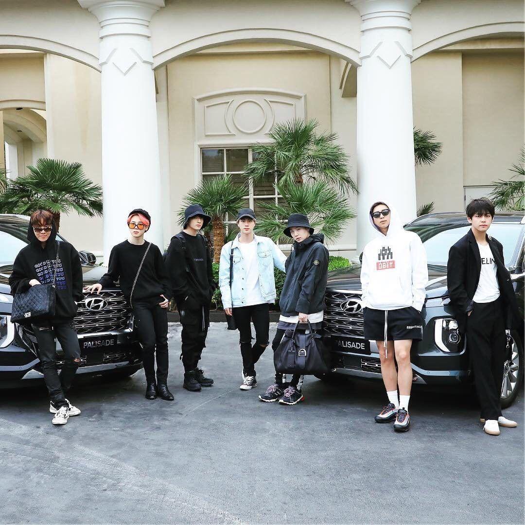 Bts Hyundai Palisade Bts Hyundai Bangtan Bts Boys
