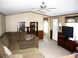 Single wide mobile home living single wide mobile home for 9 ft wide living room