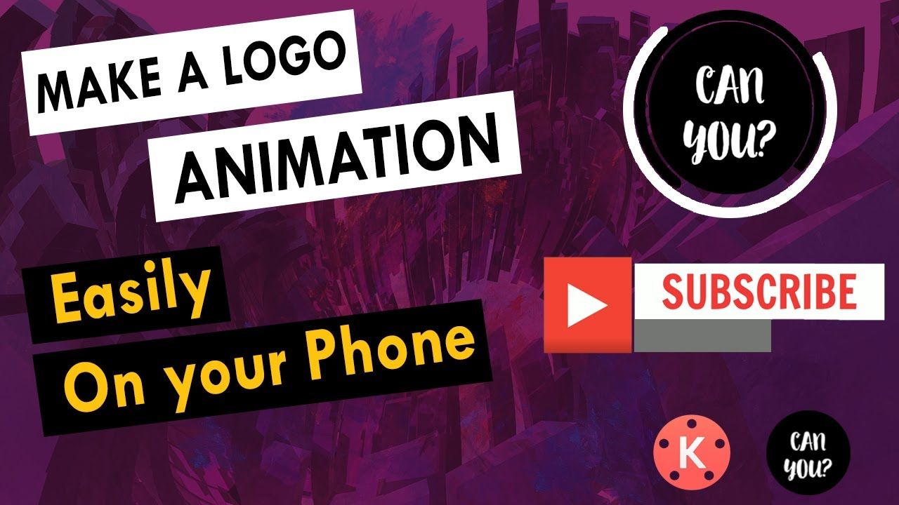 Turn your logo into a animated logo in mins with your