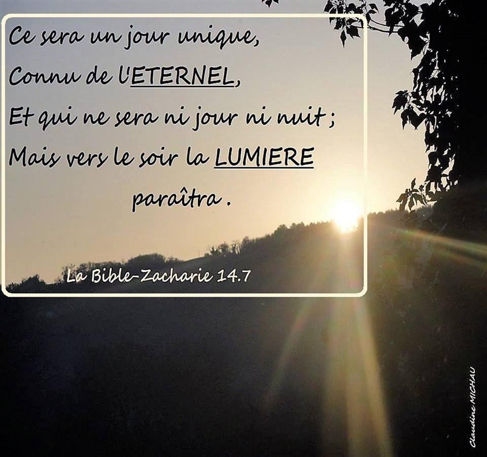 En Ce Jour La A L Apparition De Jesus En Gloire En Ce Jour La Jesus Transformera Les Tenebres En Lumiere Ce Jour La Sera Jour J Lumiere Jour Nuit