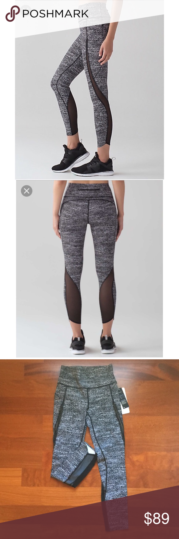 19d6b15d29 Lululemon pace perfect 7/8 tight NWT size 4 Brand new Lululemon leggings  with tags