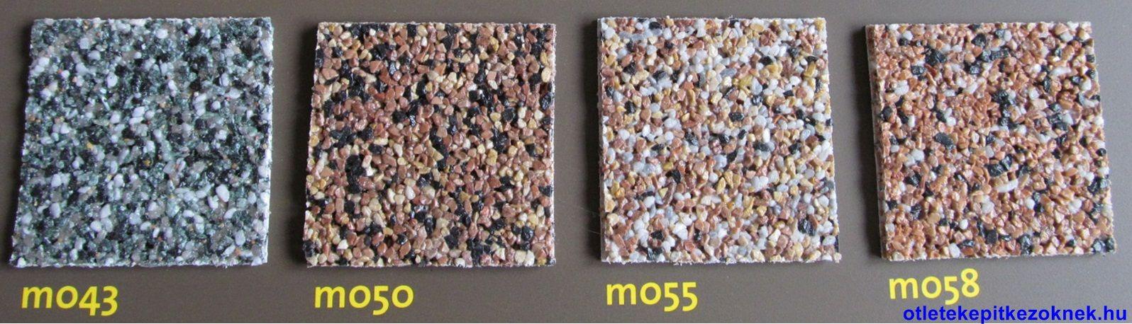 weber-terranova mosaik lábazati vakolatai