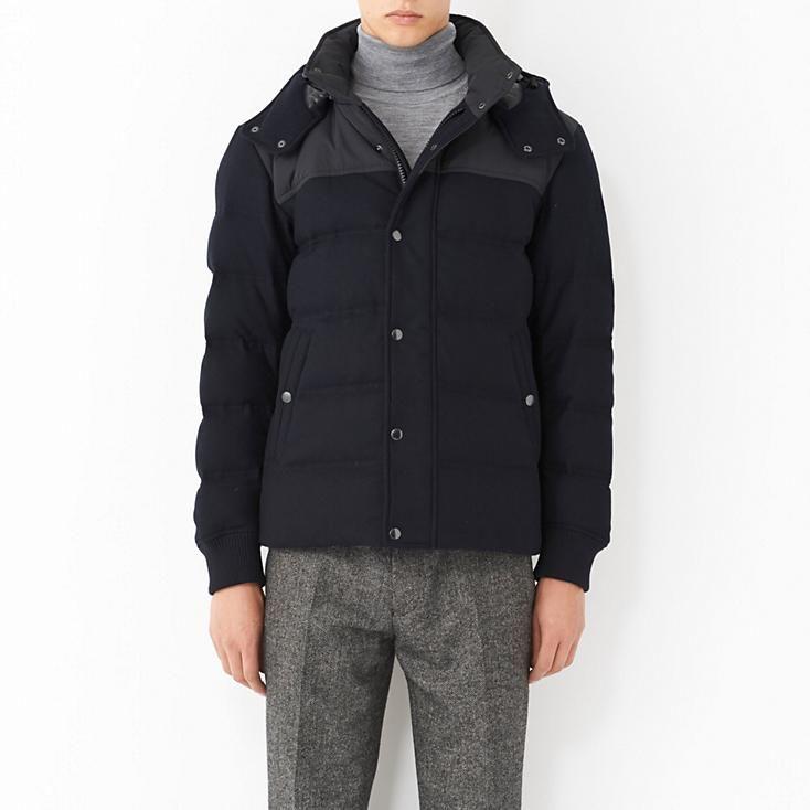 Uniqlo MEN WOOL BLENDED DOWN SHORT JACKET $129.90 | Choosing ... : uniqlo quilted jacket - Adamdwight.com