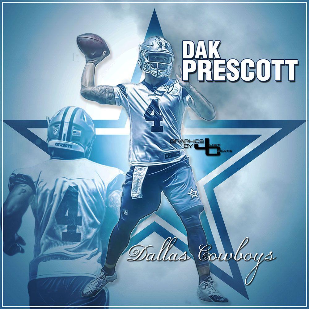huge selection of 4f620 a25aa NFL Dallas Cowboys QB #4 Dak Prescott | America's Team ...