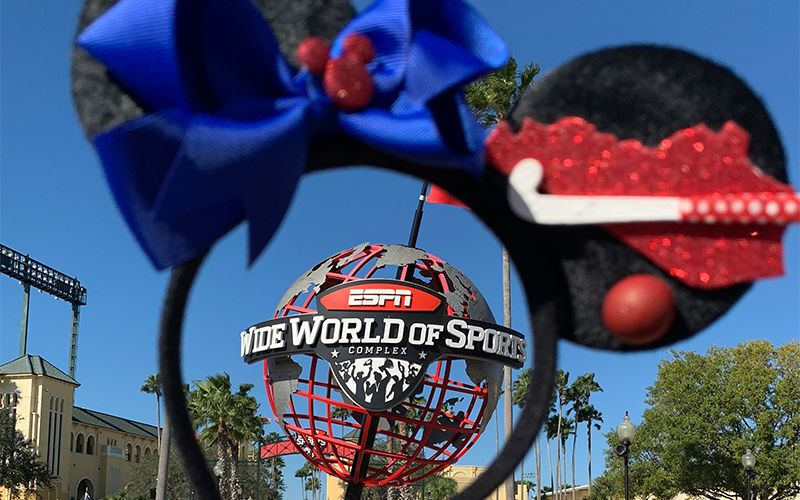 The Sun Was Out On The Third And Final Day At The 2020 Disney Field Hockey Showcase A Usa Field Hockey Sanctioned Event A In 2020 Field Hockey World Of Sports Hockey