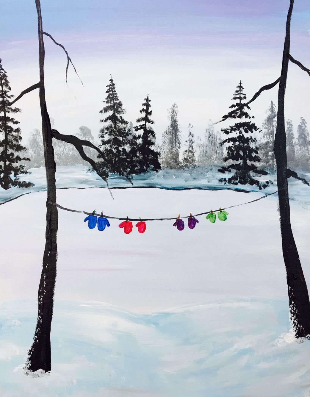 Winter Hang Out   Painting Fix!!   Pinterest   Postkarten, Schule ...