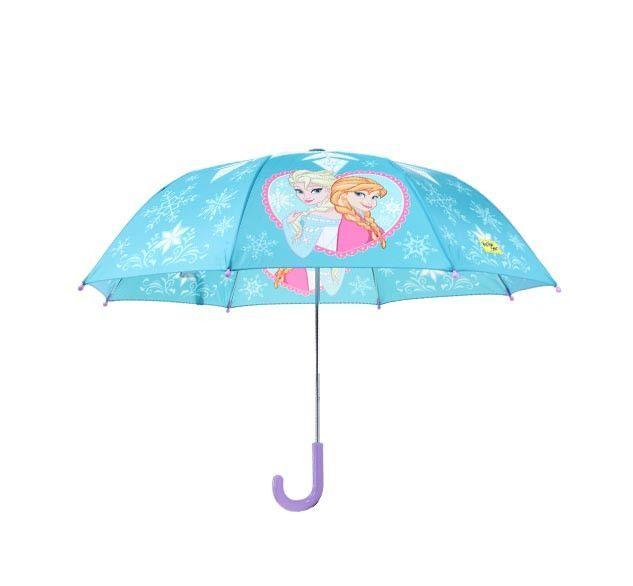 Kids' Frozen Elsa & Anna Umbrella - Blue