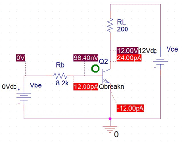 PSPICE Simulation of BJT as Switch | Electronic Circuits in