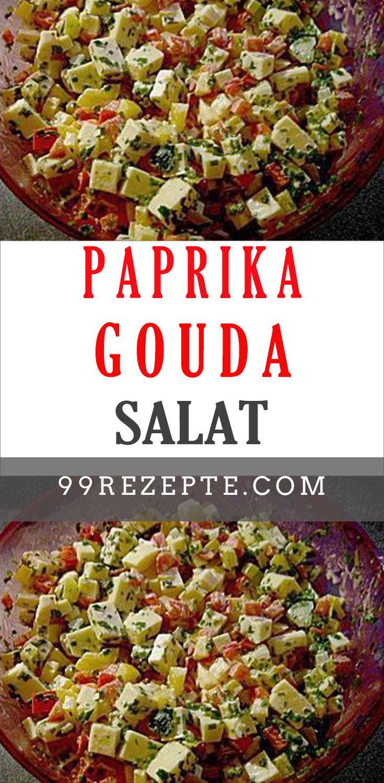 Paprika gouda leckeres salat