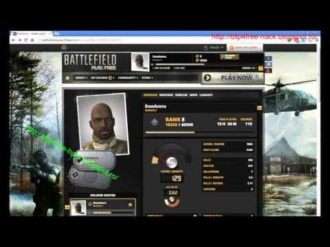 Battlefield Play4Free hack - works as of 01 November, 2013 - YouTube