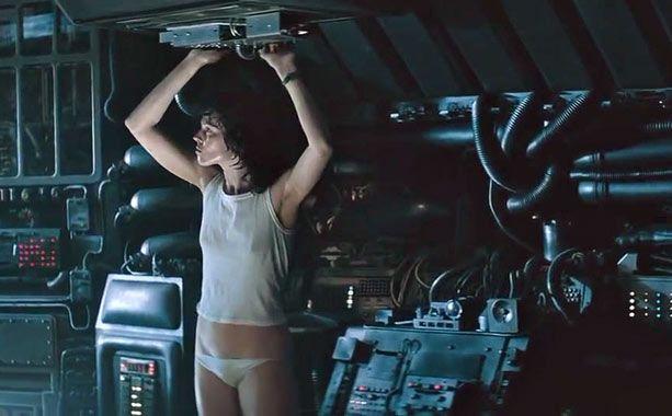 weaver panties alien Sigourney