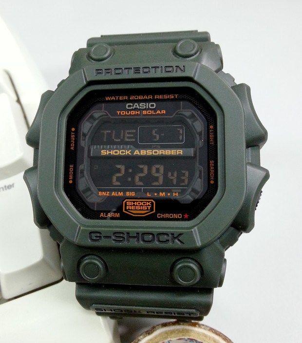 a3fb9ad9d419fe Live Photos] The King G-Shock GX-56KG | Shoes Bag Watch | Casio g ...