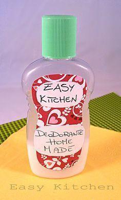 Deodorante home made per la persona collaudata è fantastica questa ricetta, dop... - - Photo Blog