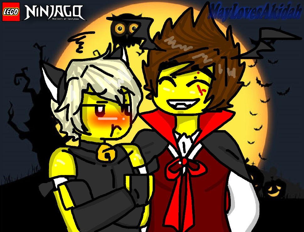 Ninjago Halloween By MaylovesAkidah On DeviantArt