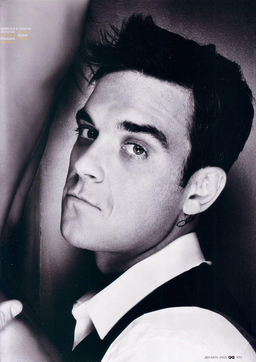 Robbie Williams, oh I've missed his face!