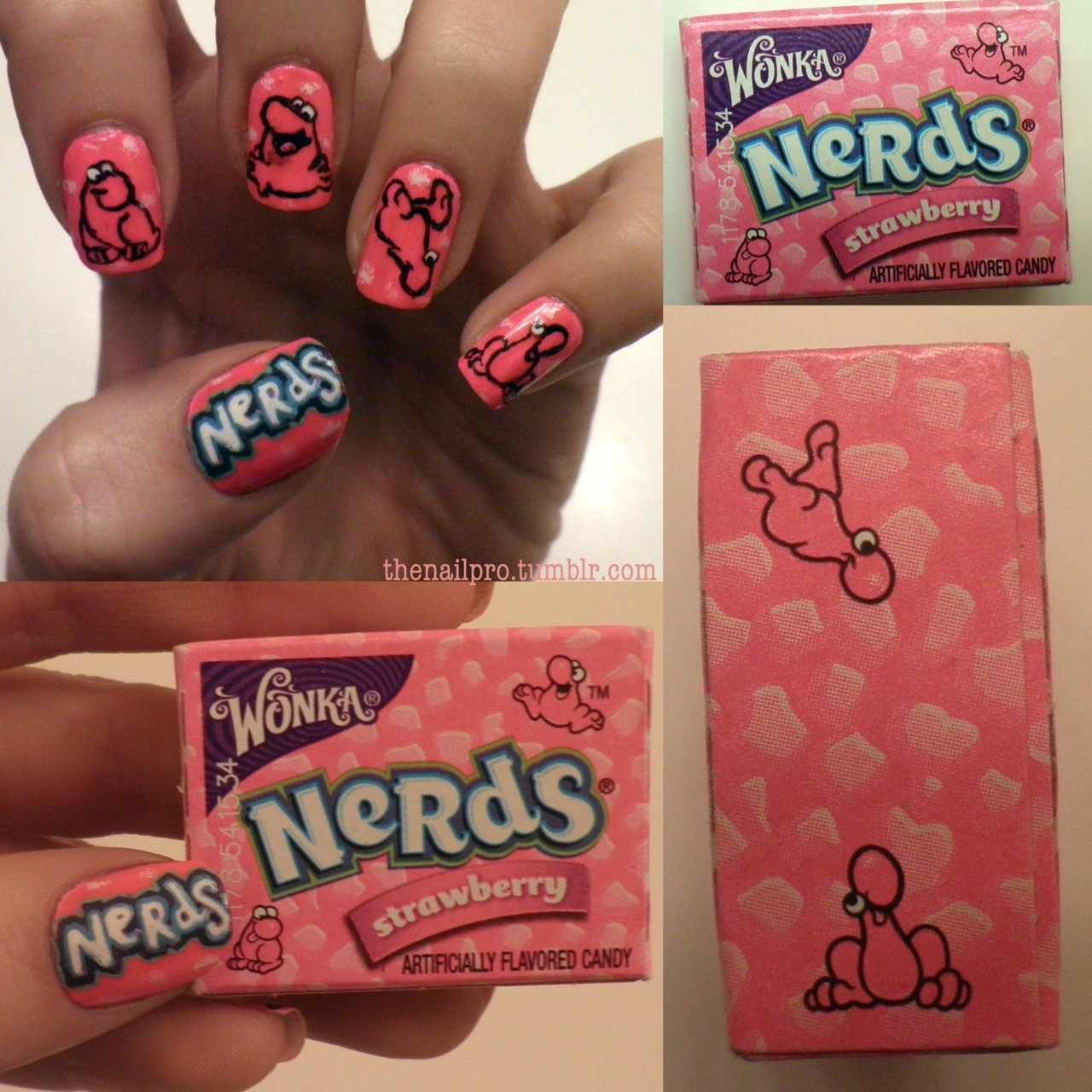 Nerd Nail Art Fantastic. | It\'s In The Nails | Pinterest | Nail art ...