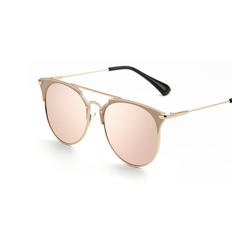 Retro runde cat eye sonnenbrille männer frauen designer brillen ...