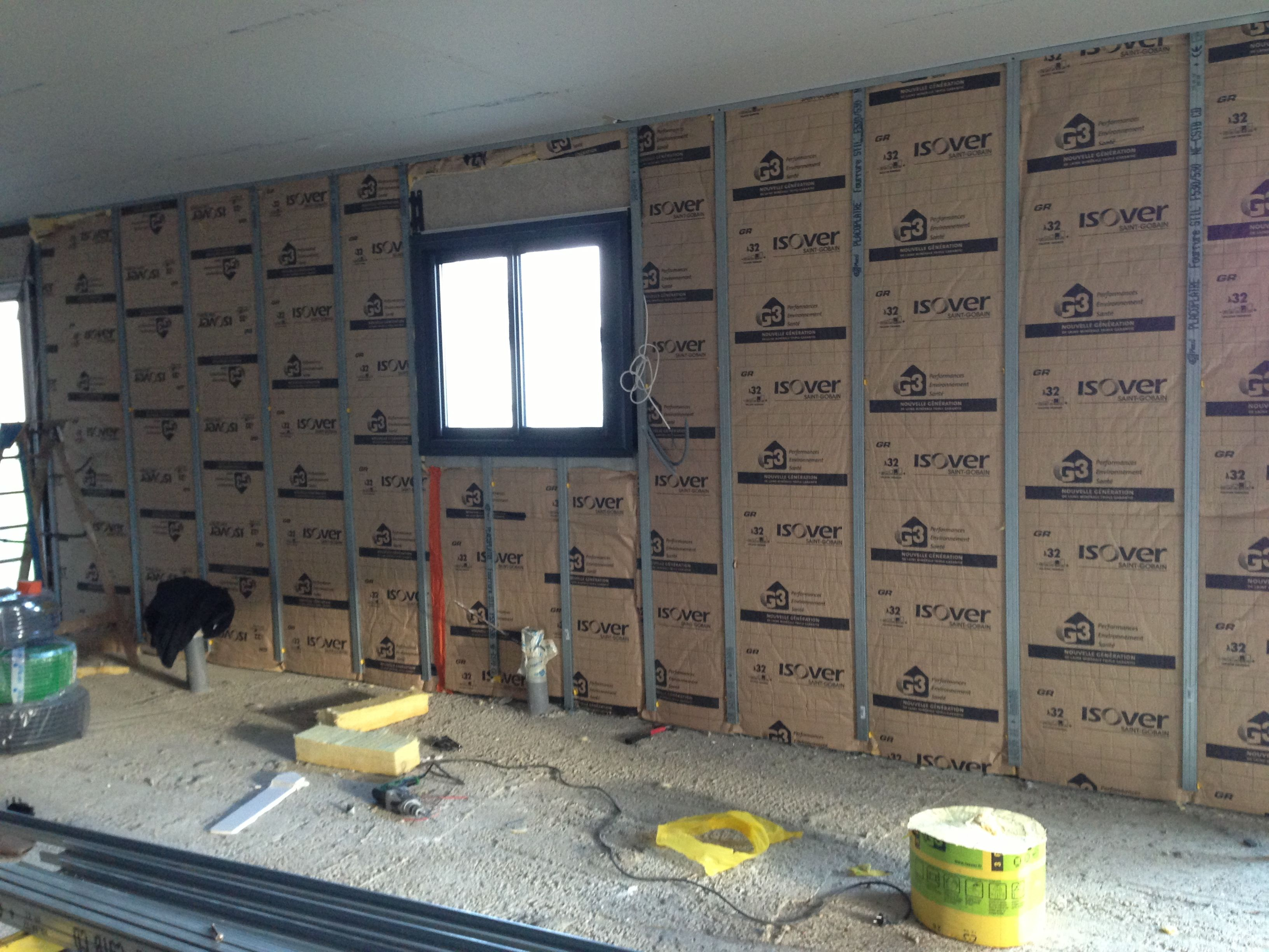 isolation des murs externes home sweet home pinterest. Black Bedroom Furniture Sets. Home Design Ideas