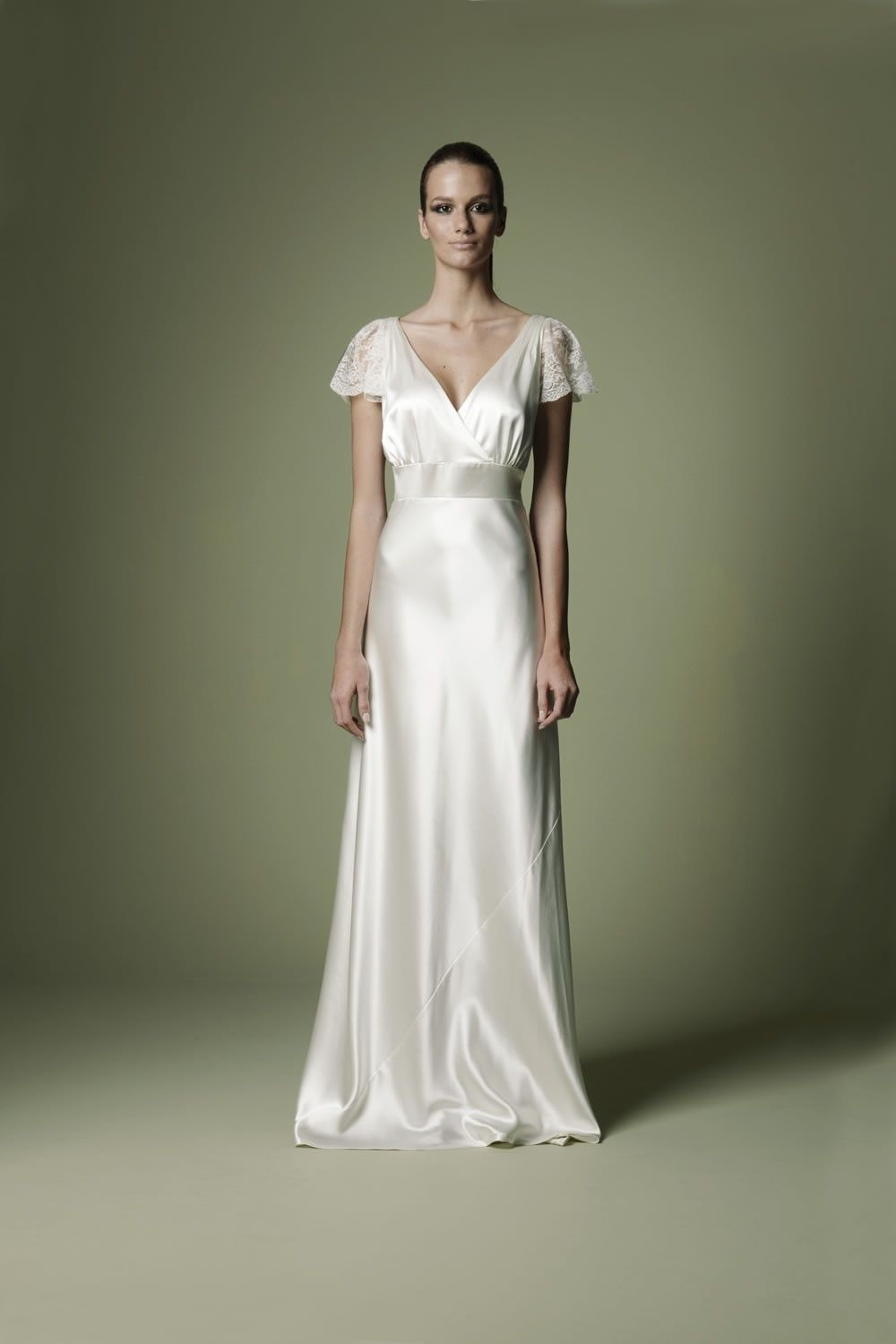 1930s-style-ivory-silk-satin-dress-with-cross-over-neckline-wedding ...