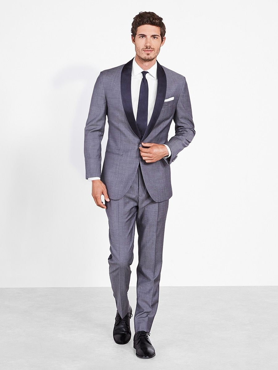 The Black Tux - Chambray Tuxedo | groomsmen attire | Pinterest ...