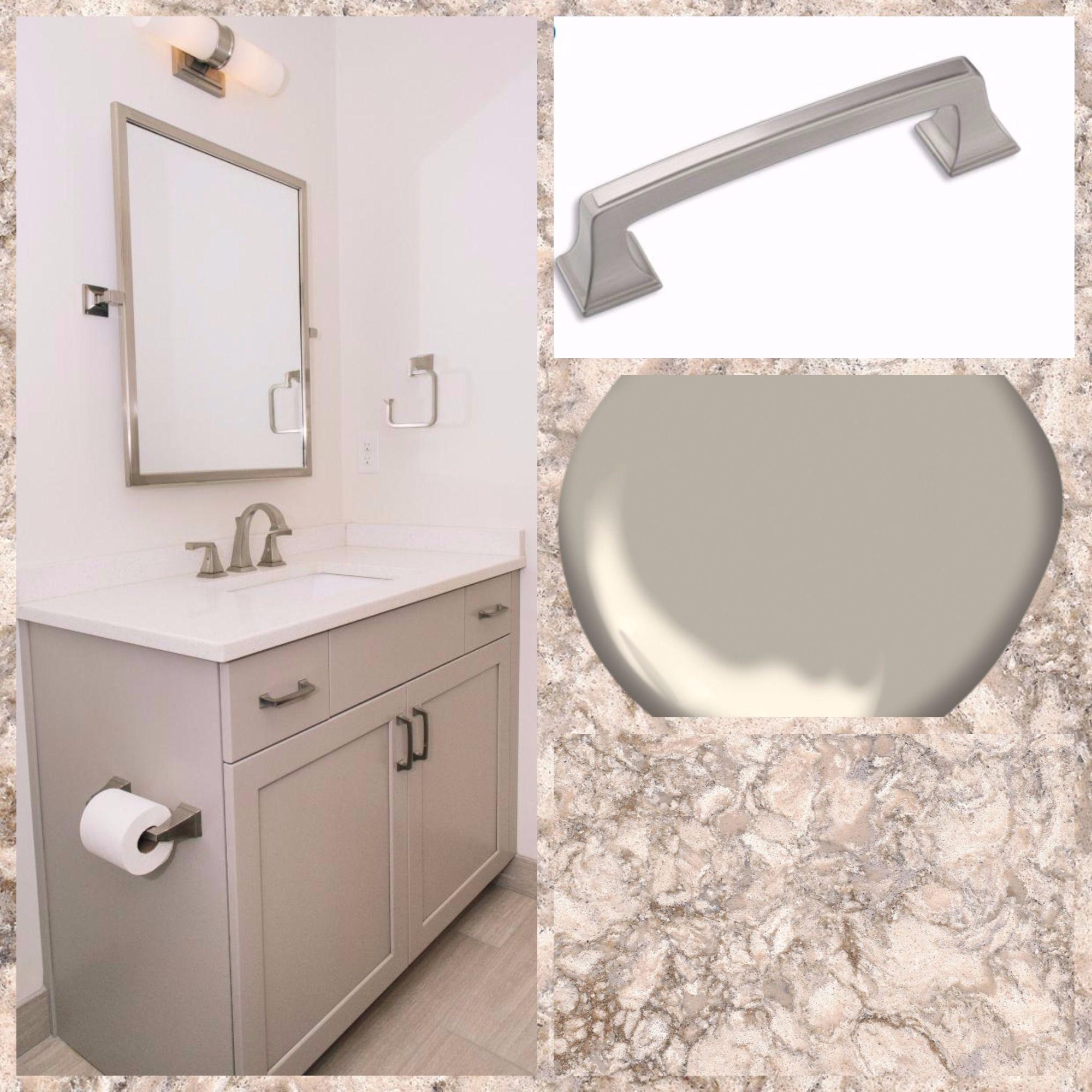 Bathroom Custom cabinet job by Kempsville Cabinets. The ...