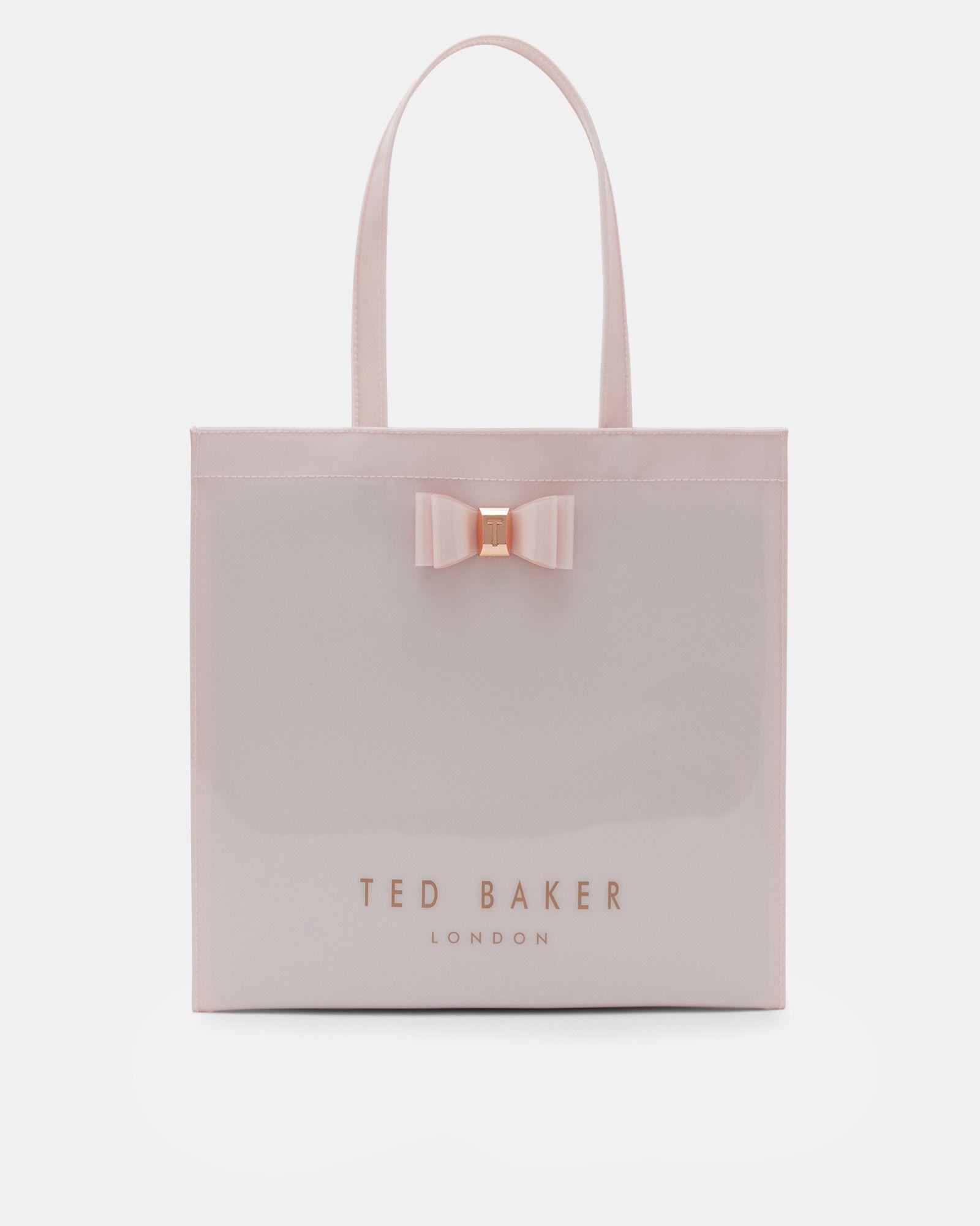 Ted Baker Bow detail large shopper bag Dusky Pink  6f92513e5