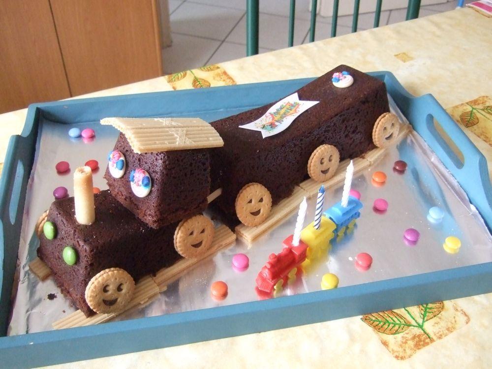 Top train sans glaçage   Cake   Pinterest   Anniversaires, Gateau  OV24