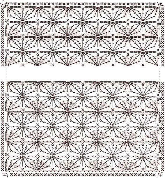 patrones en ganchillo para tejer mantitas de bebe | Arte que adoro ...