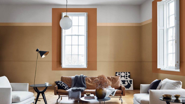 9 Design Cappuccino Wohnzimmer in 9  Innenraumfarben